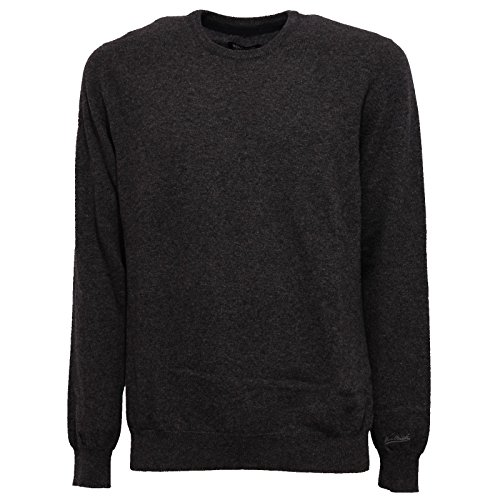 Maglione Wool Sweater Uomo Grigio Woolrich Scuro Melange Men Grey 6060w Tf5SxqwU