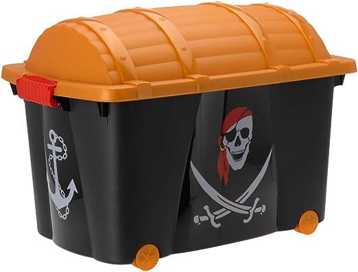 Caja para guardar pirata Caja ruedas juguete caja caja para ...