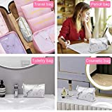 Marble Makeup Bags,LKE Cosmetic Display Cases