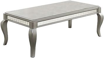 Amazon Com Acme Furniture 83080 Francesca Coffee Table Champagne Furniture Decor