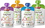 First Choice Organic Baby Food Pouches Variety Pack, (Pack of 16)...