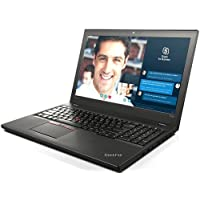 Lenovo T560 20FJS04C00 Notebook PC - Intel Core i5-6200U 2.3 GHz Dual-Core Processor - 8 GB DDR3 SDRAM - 256 GB Solid State Drive - 15.6-inch Display - Windows 10 (Certified Refurbished)