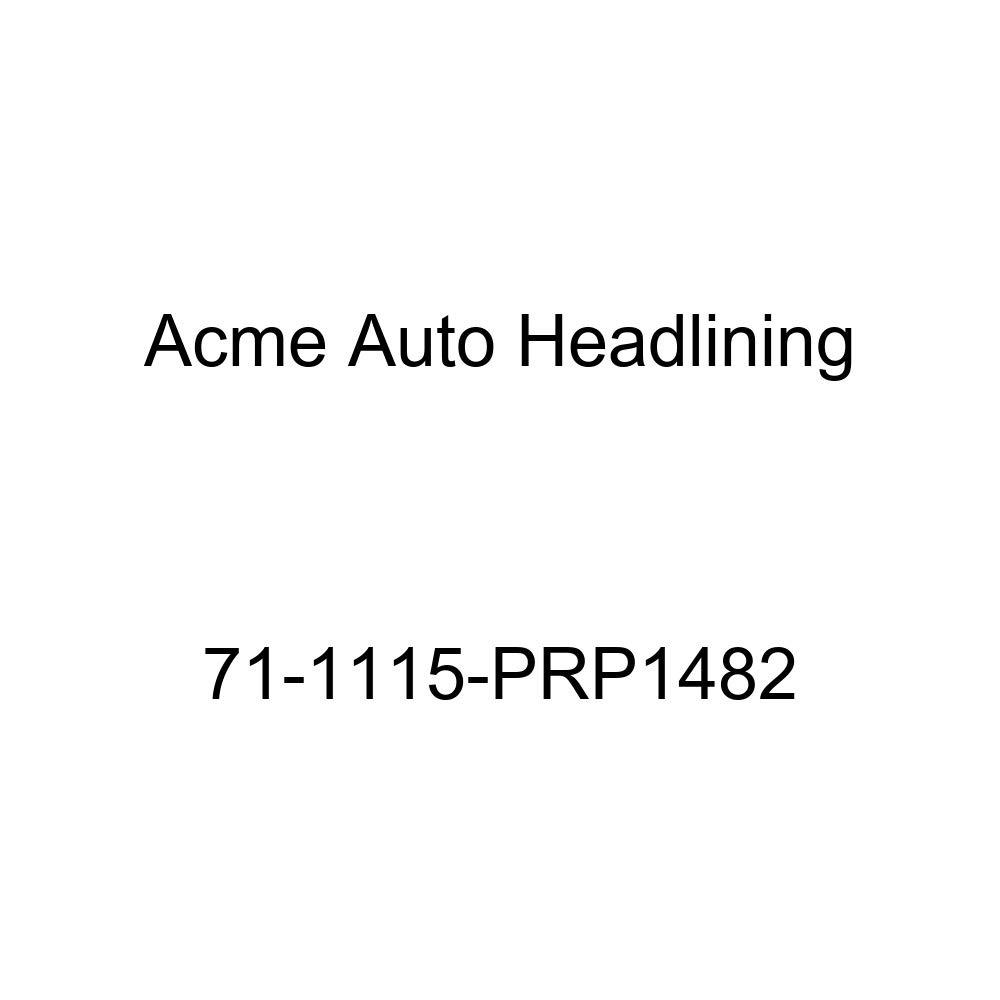 Acme Auto Headlining 71-1115-PRP1482 Medium Blue Replacement Headliner 6 Bow 1971 Buick Electra 4 Door Hardtop