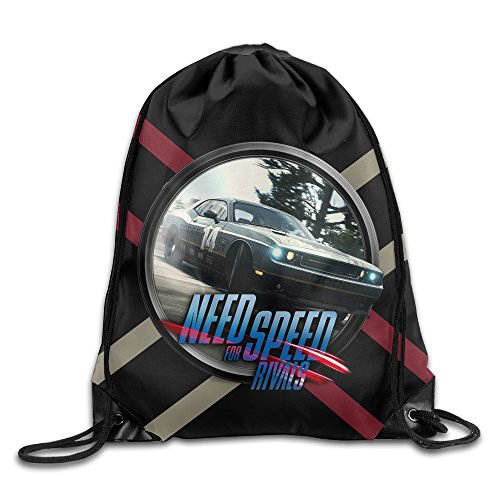 Price comparison product image MaNeg Need For Speed Rivals Gym Drawstring Backpack&Travel Bag