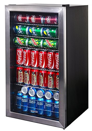 NewAir 126-Can Beverage Cooler, Cools to 34 Degrees