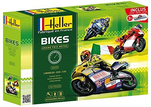 Heller 52310 52310 52310 Modellbausatz Grand Prix Motos 3 Modelle da4831