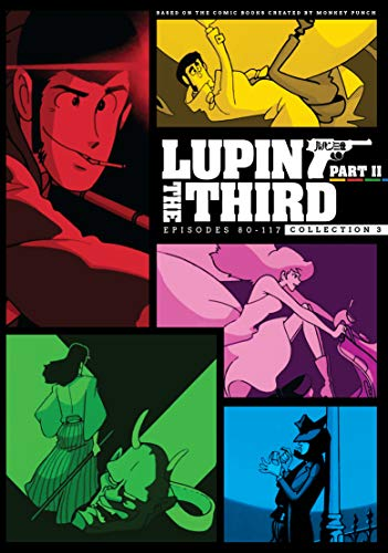 Lupin the 3rd: Series 2 Box 3