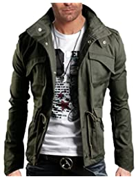 WSLCN Men's Cotton Lightweight Hunting Jacket High Quality