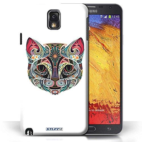 Etui / Coque pour Samsung Galaxy Note 3 / Chat conception / Collection de Animaux décoratifs