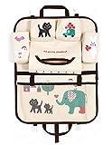 Car Seat Back Organizer Kids Toy Storage Multifunctional [Multi-Pocket] Durable Hanging Organizer Elephant Reviews