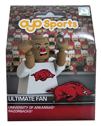 OYO NCAA Arkansas Razorbacks Ultimate Fan Minifigure, Small, ()