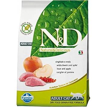 Farmina - N&D Jabalí Y Manzana Adult Cat Grain Free