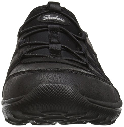 Well Do Black be Femme Baskets Skechers Noir Light Enfiler to Blk 4EHpIq