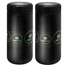 Positz Bike Tool Storage Bottle Large 750ml Black (2 Pack)