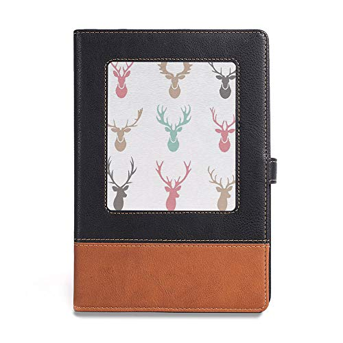Premium Thick Paper,Antlers Decor,A5(6.1