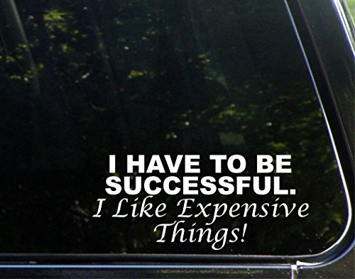 I Have To Be Successful. I Like Expensive Things! - 8 1/2