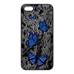 Butterfly DIY Cover Case for Iphone 5,5S,Butterfly custom cover case