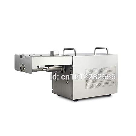 Acero inoxidable máquina de extracción automática de aceite de ...