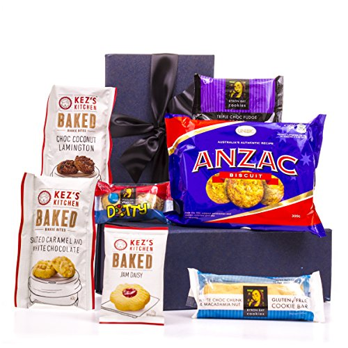Hamper World Aussie Gift Package with ANZAC Biscuits (Cookie Hampers)
