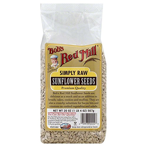 Gold Sunflower Seed - Bobs Red Mill Sunflower Seeds (Raw Shelled) 20.0 OZ(Pack of 3)
