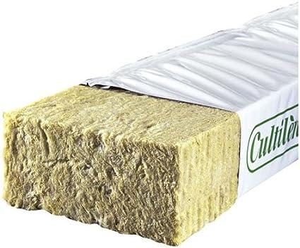 Bandeja / Sustrato de Cultivo Exact Slab Lana de Roca Cultilène (100x15x7,5cm)