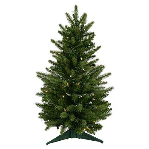 2' Pre-Lit Frasier Fir Artificial Christmas Tree - Clear Lights (Un-lit Trees)