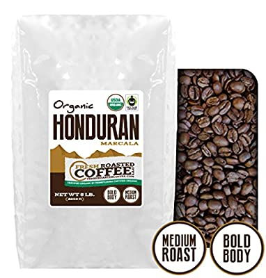 Honduran Marcala OFT Coffee, Whole Bean Coffee, Fresh Roasted Coffee LLC.