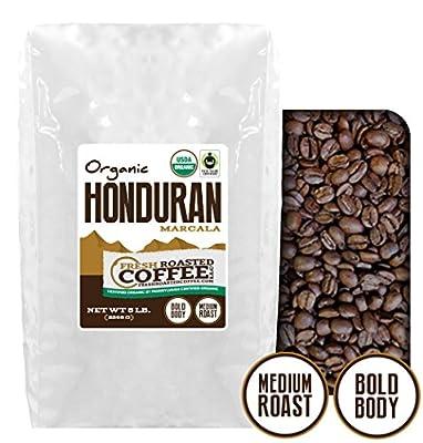 Honduran Marcala OFT Coffee, Whole Bean Coffee, Fresh Roasted Coffee LLC.