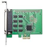 I/O Crest RS-232 DB9 Series 8x Serial (8S) 8 Port