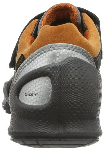 Ecco Biom Train Kids Marine/Danube Fuego/Text 701382 - Zapatillas para unisex-niño Noir - Schwarz (BLACK/TERRACOTTA)
