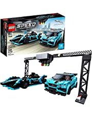 Lego 76898 Speed Champions Formula E Panasonic Jaguar Racing Gen2 car and Jaguar I-PACE eTROPHY