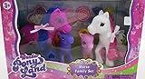 Wonder Pony Land -Little Pony Family Set of 4 Dream Collection