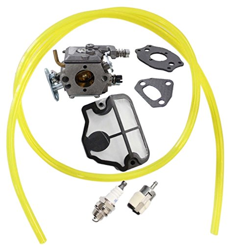 AISEN CARBURETOR CARB WITH GASKET AIR FILTER FOR HUSQVARNA CHAINSAW 36 41 136 137 141 142