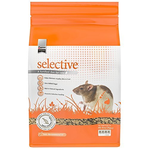Supreme Petfoods Science Selective Rat Food, 4 lb 6 oz