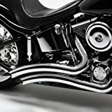 Vance & Hines Chrome Big Radius Exhaust System For Various Harley Davidson Models (see specifications for exact fitments)- 26029