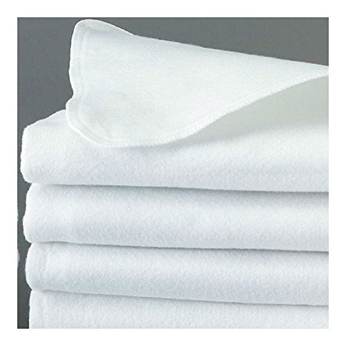 2 QUEEN SIZE WHITE FLAT FELT PAD MATTRESS COVER T180 HOTEL 60x80 FLAT COVER