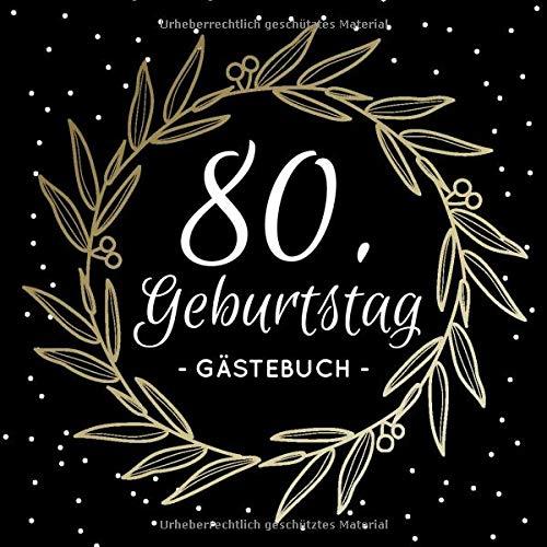 Geburtstagsgluckwunsche 80