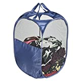 MaidMAX Pop-Up Laundry Clothes Hamper Bag with 2