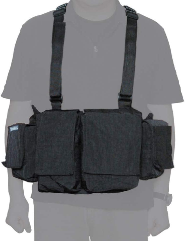 【国内正規品】newswear ニューズウェア メンズデジタルチェストベスト ブラック 822487