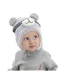 Beanie Hat Children Kids Baby Boys Girls Winter Ski Knitted Ear Flap Peruvian Cap