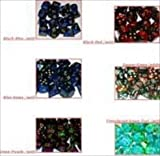 Chessex Manufacturing LE821 Assorted Gemini 3 Colors D10 Polyhedral Dice Bag - 50