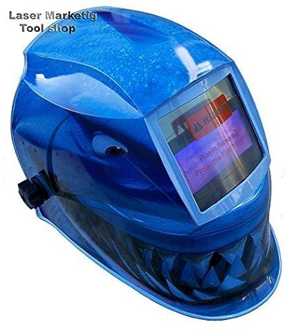 FALCON de soldar seguridad de máscara de seguridad para soldar funciona con energía SOLAR (500