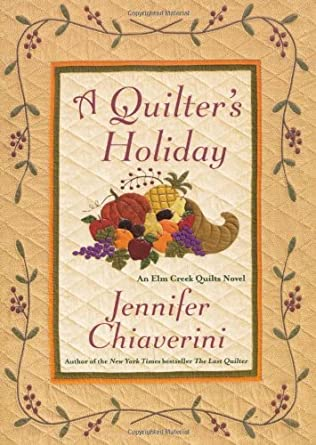 book cover of A Quilters\' Holiday