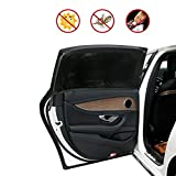 Carrep Side Car Window Shade Sunshades 2 Package Protects Baby from Sun, Harmful UV Rays,Fits Most Small Cars, Trucks and SUVs (L 44'X20' Black)
