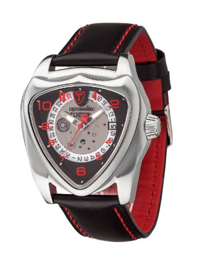DETOMASO DT20 Silver Anniversary Edition Automatic Mens Watch Stainless Steel DT20-B