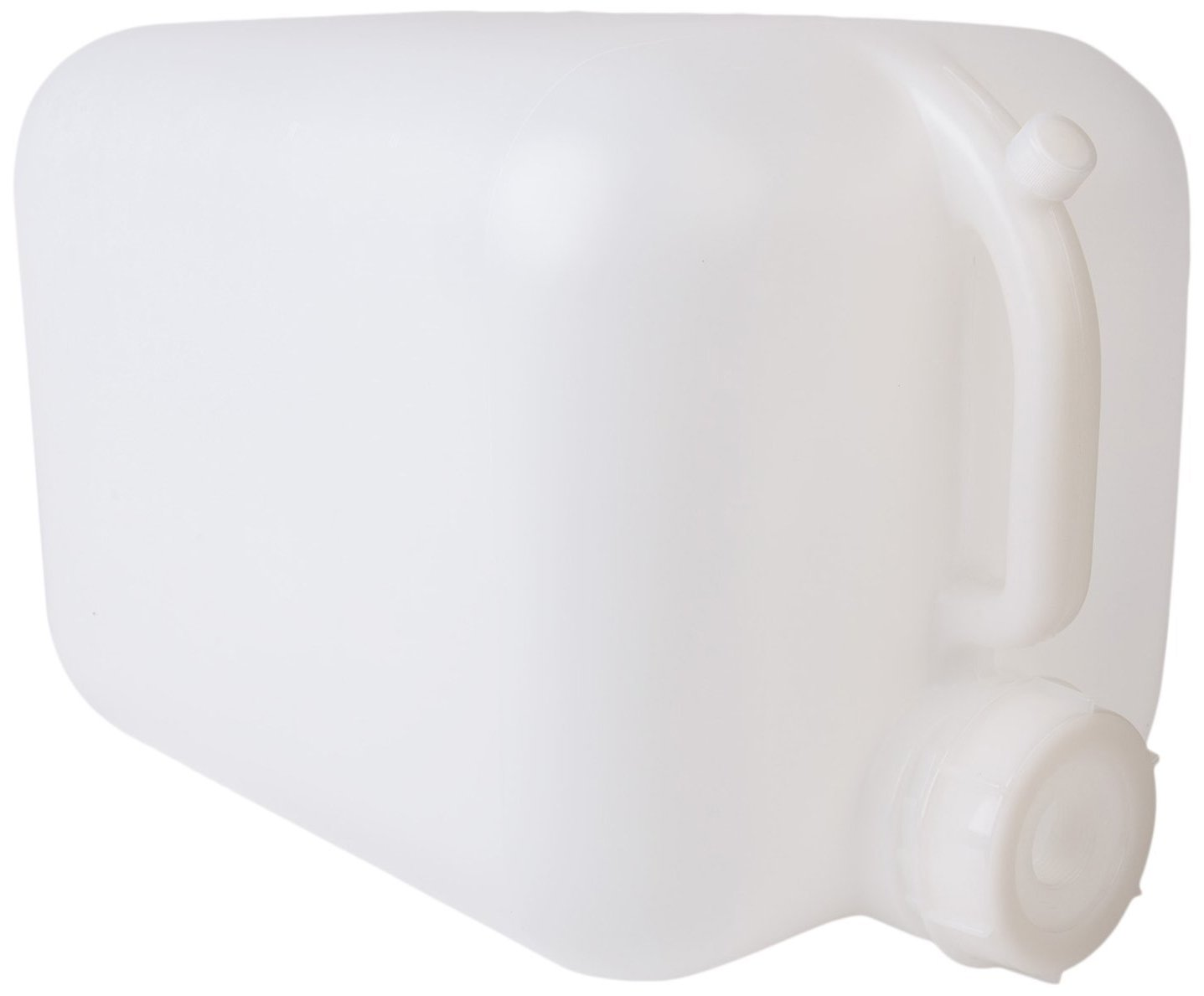 Hudson Exchange 5 Gallon Hedpak Container with Cap, HDPE, Natural