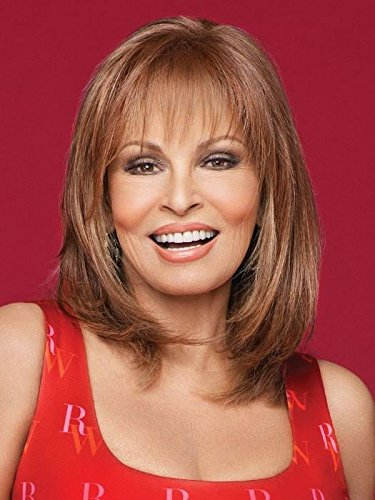 (Top Billing Topper Color RL19/23 BISCUIT - Raquel Welch Wigs Heat Friendly Synthetic Pre-Cut Lace Front Monofilament Top Women's Volume Hairpiece)