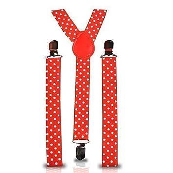 Strapshalter Retro Vintage Unisex Schmal mit Clip Elastisch Hosenträger