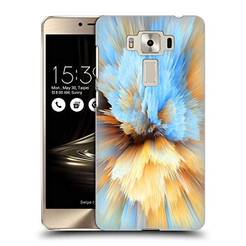 Official Haroulita Rain Abstract Glitch 4 Hard Back Case Compatible for Zenfone 3 Deluxe 5.5 ZS550KL