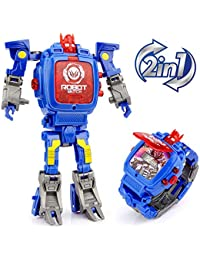 Transforming Toys Watch, 2 In 1 Robot Watch, Digital...